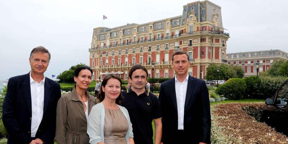 François Amigorena Anne Pinatel Virginie Lannevère Guillaume Barucq Edouard Chazoullières